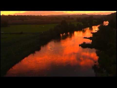 "Super chill movie : Die Ruhr in Flammen  -  Super Sunrise at the river ""Ruhr"""