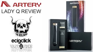 Artery Lady Q Review - A Vape That Looks Like A Lipstick!