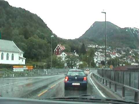 Part 5/9 Norway Roadtrip 2009  Nordfjord Stadlandet Måløy Kannestein Bergen