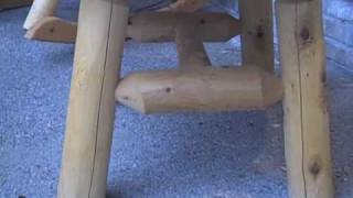 Jhe's Look At The Cedar Log Coffee Table By Lakeland Mills