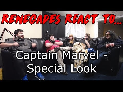 Renegades React to... Captain Marvel - Special Look