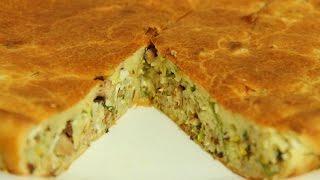 видео Пирог с капустой и рыбой – 11 рецептов