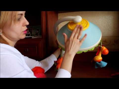 Стоит ли покупать мобиль?  Видео обзор детской игрушки мобиля лампы Tiny Love Magical...