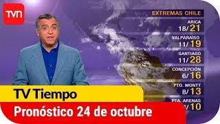 Pronóstico para este martes 24 de octubre | Tv Tiempo