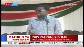 \'This initiative between you and Raila  is going to be a game changer\' James Orengo on Handshake