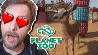 In dieses Spiel habe ich mich verliebt! | Planet Zoo Alpha
