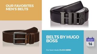 Belts By Hugo Boss Our Favorites Men