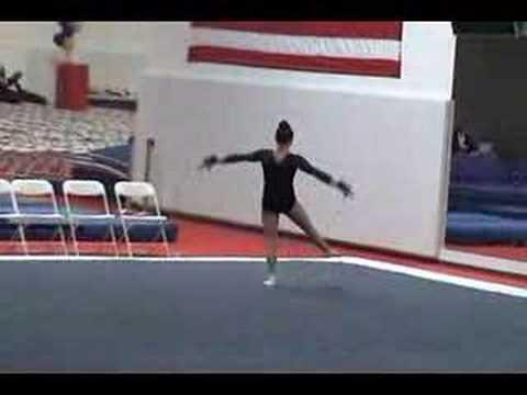 team oc gymnastics floor routine level 7 youtube