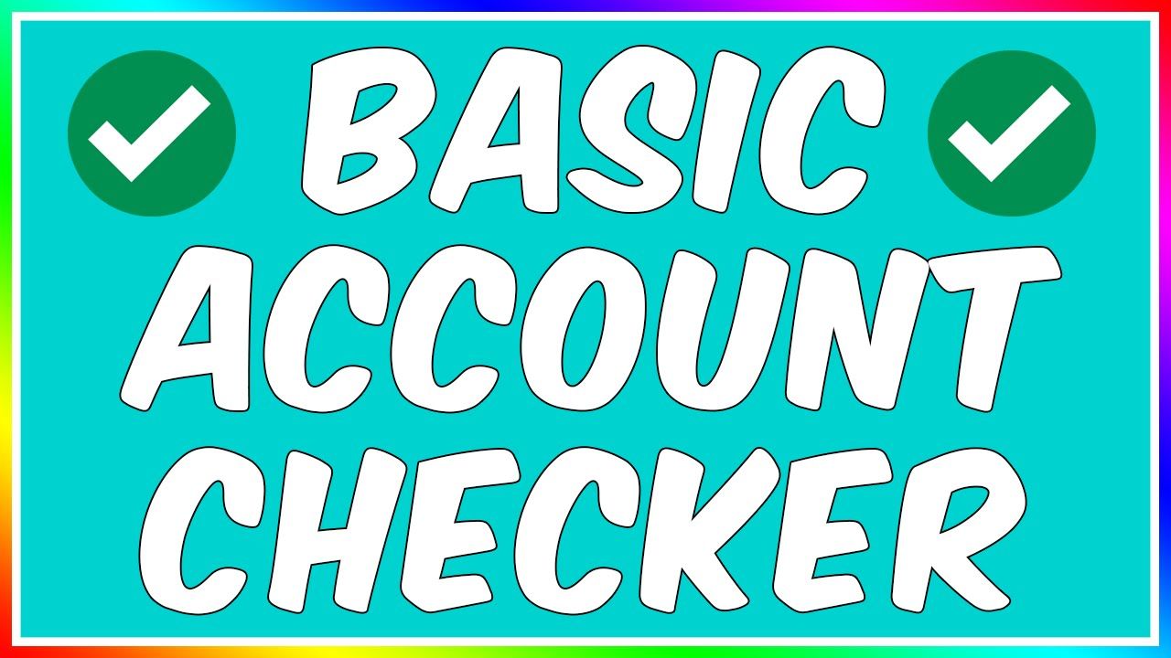 How To: Make A Simple Account Checker!