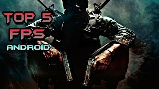 TOP 5 FPS/Shooting Games For Android | First Person Shoot Games | Clashers War & Tech (2018)