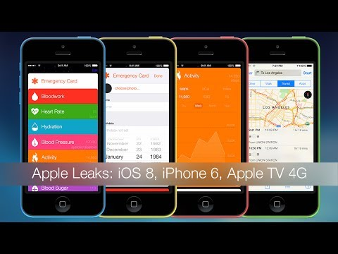 Apple Leaks: iOS 8, iPhone 6, Apple TV 4G, iPhone 5C 8GB