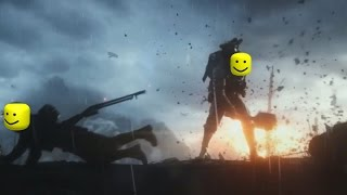 Battlefield 1 Trailer but every death is Roblox death sound