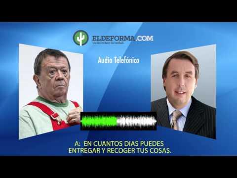 Audio en el que Emilio Azcárraga le pide a Chabelo que se retire de Televisa