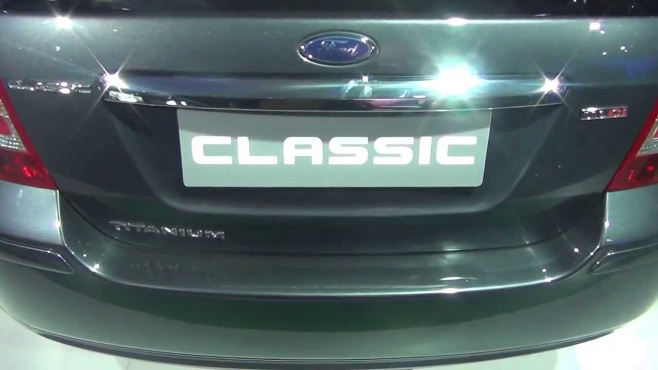 ford fiesta classic diesel at 12th auto expo 2014 the motor show