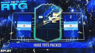 THE DUMBEST, MOST RIGGED PACK LUCK YOU'LL EVER SEE... THE RTG EP 21! #FIFA21 ULTIMATE TEAM