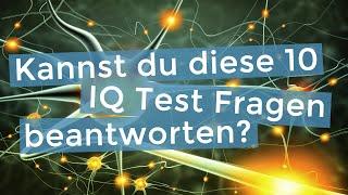 IQ Test Training: Kannst du diese 10 Fragen beantworten?