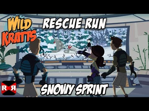 Wild Kratts Rescue Run - Snowy Sprint - Best Animals Learning Game For Kids