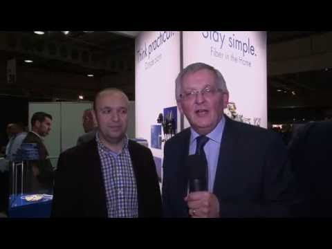 Goran Kitic's interview at the FTTH Conference in Luxembourg