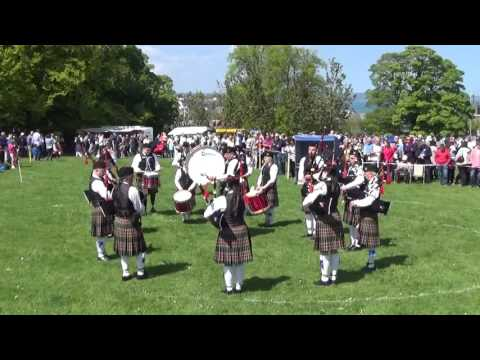 William Kerr Memorial Pipe Band @ Ards & North Down Pipe Band Championships 2016