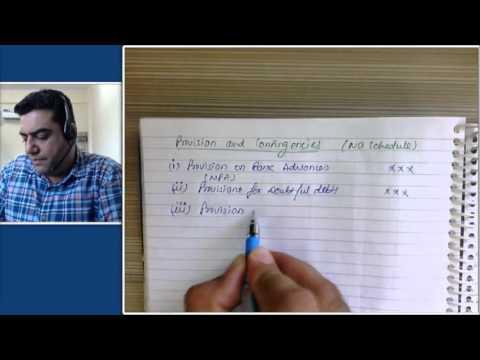 Banking Profit and Loss Account