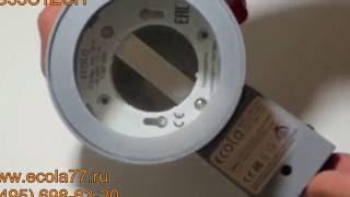 Обзор уличного влагозащищенного прожектора GX53 IP65  8003A (Цилиндр) арт. FG53C1ECH