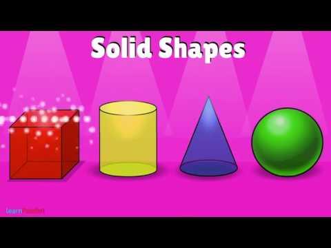 Solid Shapes | Basic Maths for Kids