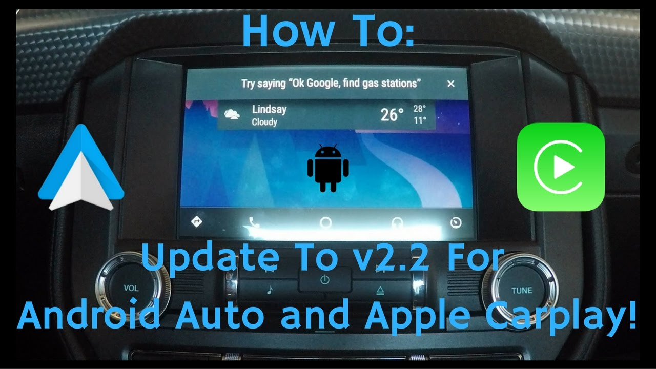 How To: Update Sync 3 to v2 2 for Android Auto & Apple Carplay!