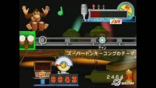 Donkey Konga 2 GameCube Gameplay - Donkey Kong theme