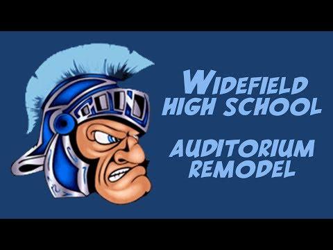 Widefield High School Auditorium - Bond Dollars At Work