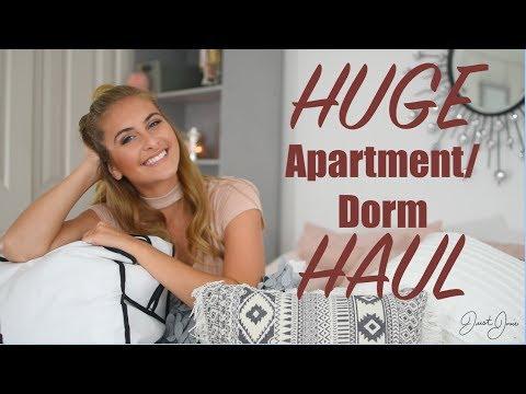 HUGE College Apartment/Dorm Haul | JustJosie