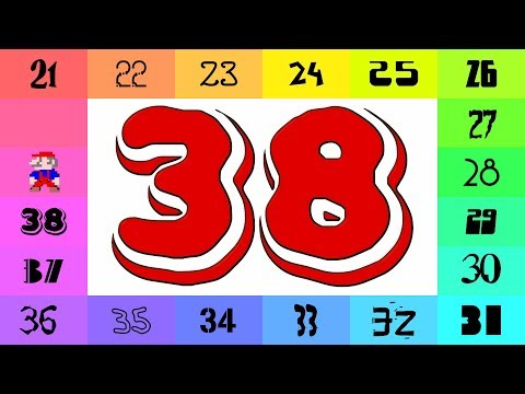 Numbers 1-500 in Colorful Fonts! (1000 / 2)