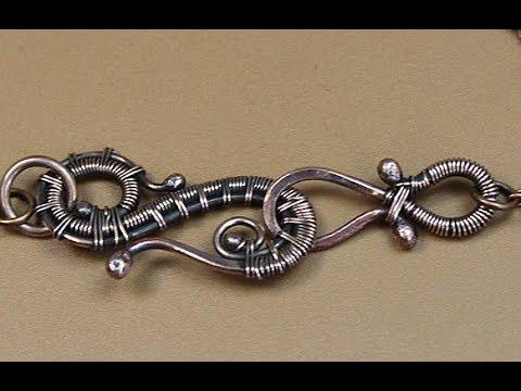 Handmade wire jewelry. Как сделать шарики на медной проволоке