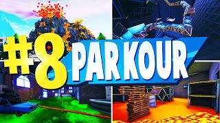 TOP 8 INSANE Parkour CREATIVE Maps In Fortnite | Fortnite Creative Parkour Map CODES