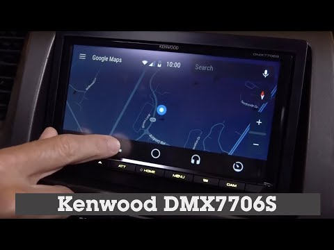 Kenwood DMX7706S Display and Controls Demo | Crutchfield Video