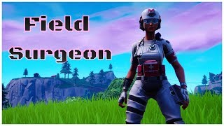 Fortnite Field Surgeon Skin Review & Win Game-play