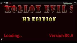 Roblox Evil 5 - brickman637 - Playthrough - Part 1