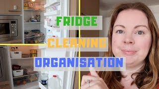 FRIDGE CLEAN, DECLUTTER AND ORGANISATION