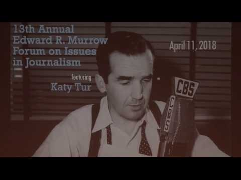 13th Annual Edward R. Murrow Forum on Issues in Journalism: Katy Tur