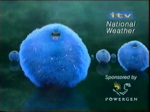 ITV (Meridian) National Weather 1999