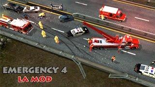 Скачать Emergency 4 LA Mod Extended Campaign Mission 6 Part 1 Forest Fire