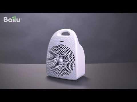 Настольный тепловентилятор BFH/S-01 (видео 1)