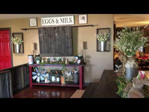 Spring/ Easter 2017 Home Decor Tour Farmhouse Style 🐇💐🐣
