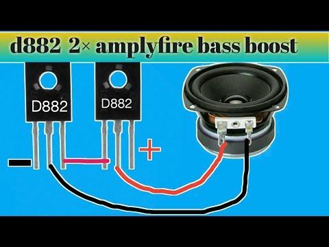 D882 amplyfire  Bass boost 2├Ч power