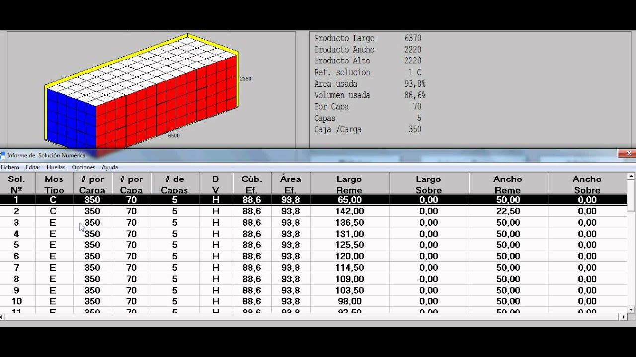 C mo optimizar la carga de un contenedor sin paletizar - Pallets por contenedor ...