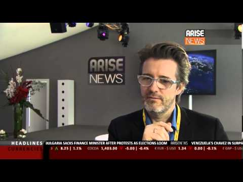 Arise News from Davos: Interview with Artist Olafur Eliasson