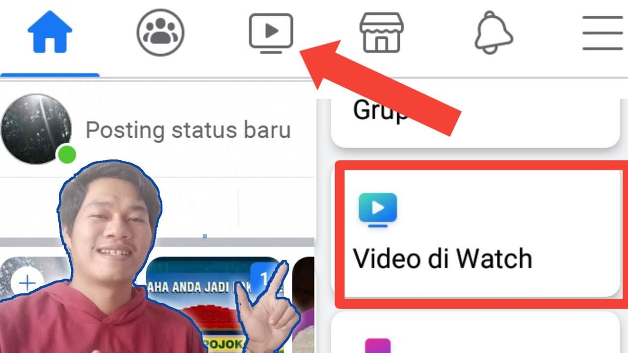 Cara Menampilkan Icon Video Watch Ditampilan Facebook How To Show Facebook Video Icon Youtube