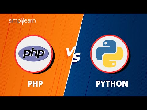 PHP vs Python: Which Is Better For Web Development | PHP And Python Comparison | Simplilearn