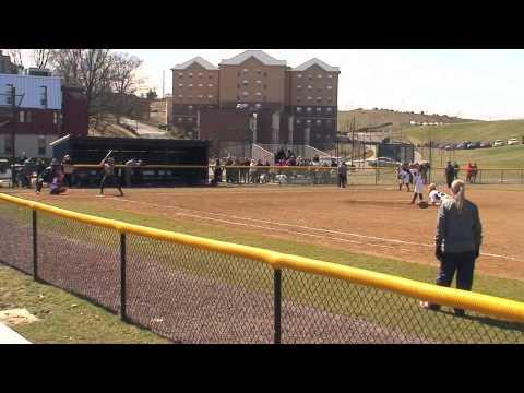 RMU vs Mount St. Mary's Softball Highlights