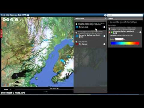 Cook Inlet Response Tool: Creating and Sharing a Scenario