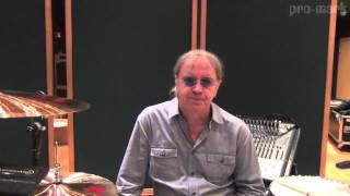 ProMark Drumsticks: Ian Paice of Deep Purple Discusses Studio Drumming